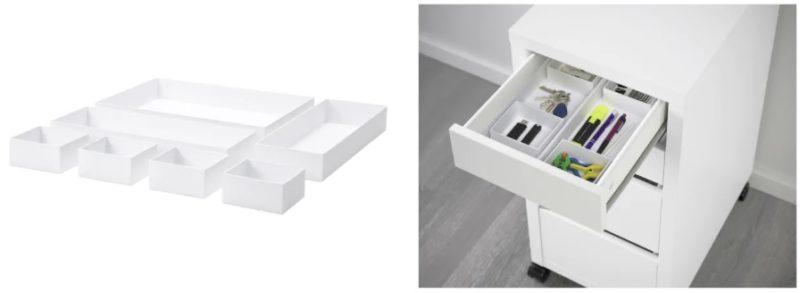 ikea IKEA イケア MICKE ミッケ デスク 引き出しユニット 引出しユニット 学習机 マラーレン MALAREN